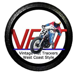 Vintage Flat Trackers West Coast Style