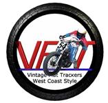 Vintage Flat Trackers West Coast Style